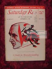 Saturday Review September 24 1949 SAMUEL PUTNAM LUDWIG VON MISES