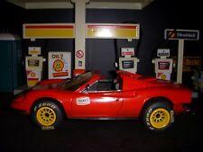CUSTOM ONE - OFF FERRARI DINO TRACK CAR   1:18 HOTWHEELS