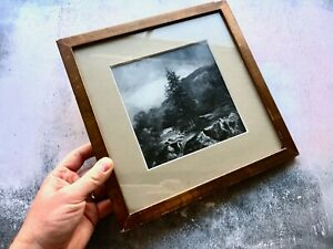 Antique Framed Landscape Oil Painting - Anthony Graham - 1891 - North Wales