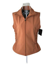Fjall Burnt Orange Vest Womens Size XS