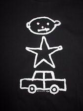 "1991 U2 ""Zoo Tv Drawing"" Concert Tour (Xl) T-Shirt Bono Edge Clayton Mullen Jr"