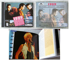 1989 STARS HITS FACTS Roxette, Tony Carey,... Polydor CD+114 S. Booklet TOP