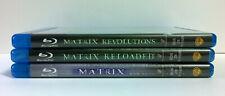 Matrix / Matrix Reloaded / Matrix Revolutions (3 Blu-ray)