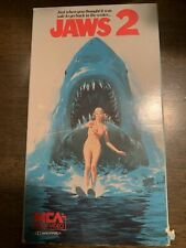 Jaws 2. Vhs