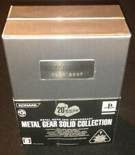 SONY PlayStation 2 PS2 Metal Gear Solid Collection 20th Anniversary from Japan