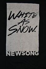 Newsong Band White As Snow T Shirt Large CCM Christian Rock Nice Valdosta GA CCM