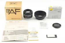 [Almost Unused + Hood] Nikon AF New Nikkor 50mm f/1.4 Standerd Lens From Japan