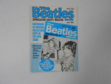 BEATLES BOOK MONTHLY Magazine APRIL 1981 ISSUE 60  3-A