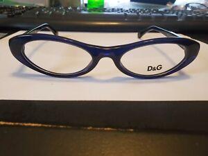 NEW  Dolce Gabbana DG 1173 503 Blue  52-18-135  FLEX HINGES PERFECT AUTHENTIC