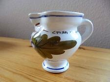 Blumenvase Henkelvase Vase Dekoration Keramik bemalt Casa Muzina