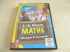 1.-2. Klasse Mathe Übungen und Lernspiel PC CD Rom