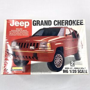 Lindberg Jeep Grand Cherokee Big 1/20 Model Kit #72518 1994 Vintage SEALED -1