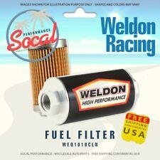 Weldon Racing Weq1010cln 10an 10 Micron Cellulous Fuel Filter Filter Assembly