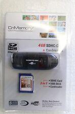 CNMemory 4gb sdhc-card + Cardreader USB 2.0