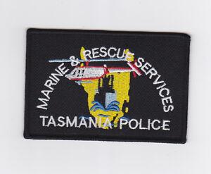 Tasmania Police Marine & Rescue Services Patch (social)