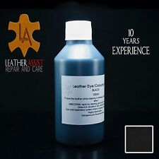 Black Leather Repair Colour Dye HONDA ACCORD CIVIC CR-V Car Interior Seats 100ml