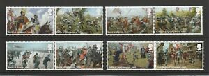 GB 2021 The Wars of the Roses Stamps MNH