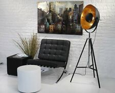 Hollywood Floor Lamp Vintage Tripod Brass Mid Century Light Modern Home Decor