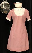 Vintage 1970's Nurse Dress Uniform W/ Cap Case & Tags Sz 12- 34R