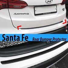 Rear Bumper Pad Scuff Rubber Molding Protector for HYUNDAI 2013-2017 Santa Fe DM