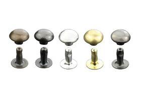 Halbkugel Hohlnieten, Rostfrei, Messing, in, 6mm, 7mm, 9mm, 10mm, 13mm