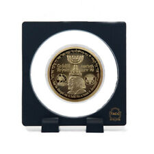 Gold Israel 70th Anniversary Commemorative Coin Trump Plated Coin with Stand