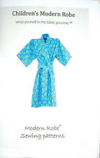 Free Shipping! Children's Modern Robe Pattern for Girls and Boys Size 2 to 12