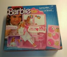 BARBIE 3873 salon de beauté / Styling salon vintage 1987 100% neuf