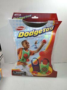 DIGGIN DODGE TAG BALL 2 PLAYER VEST 6 SOFT DODGEBALLS NEW IN PACKAGE KIDS