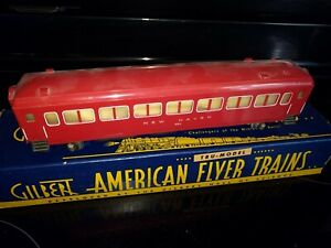 Vintage 1940 American Flyer #650 New Haven Passenger Coach Car, OB   n408