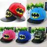 Kids Batman Baseball Cap Boys Kids Girls Hip-hop Adjustable Snapback Outdoor Hat