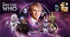 2013 The Fifth Doctor Who Official First Day Cover Signed by Nicola Bryant