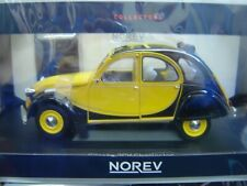 "Norev 1:18 181493 Citroen 2CV Charleston 1982 Helios Yellow & Black ""Neu""(899)"