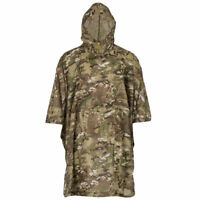 HIGHLANDER ADVENTURE PONCHO HMTC Waterproof Hooded Packable Military Army Camo