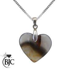 Collares y colgantes de joyería con gemas naturales ágata