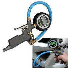 Universal Tire Inflator Gun Round Digital Tire Pressure Gauge for Car Motorcycle