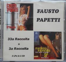Fausto Papetti 33a Raccolta+3a Raccolta CD NEW sealed