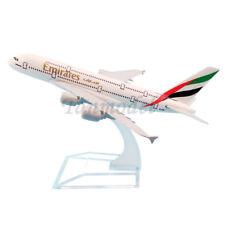 16cm alloy plane model UAE United Arab Emirates A380 A6-EDD