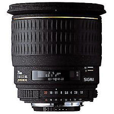 F/1.8 Wide Angle Camera Lenses for Sony