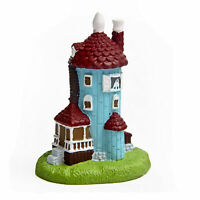 Moomin Valley Muumi Lighthouse Resin Figure Collection Toy Home Yard Decor