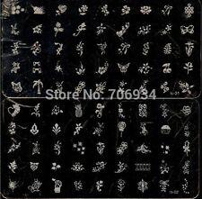 Nail Stamping Plates stamper 2Pcs Konad Stamp Image Plate Stamping Nail Art DIY