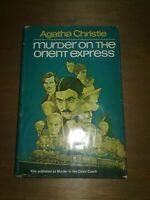 """Murder On The Orient Express"" Agatha Christie Book Club Edition US Print 1960"