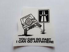 Aufkleber Autoaufkleber  Offroad JEEP Allrad 4x4 Sticker. Transparente Folie