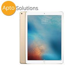 Apple iPad Pro 2nd Gen. 64GB, Wi-Fi + 4G (Unlocked), 12.9 in - Gold (Read/Pics)