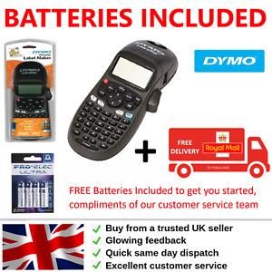 Dymo Handheld Label Maker Letratag LT-100H Mono Printer BATTERIES TAPE INCLUDED