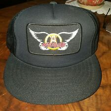 ●AREOSMITH●VINTAGE CONCERT HAT●BEEN IN STORAGE FOR 25 YRS●NEW NEVER WORN●