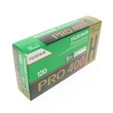 5 Stück: Fujifilm Pro 400H 120 Größe ISO400 Farbe Negativfilm