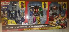 Power Rangers Deluxe Megaforce Ultimate Legendary Megazord Q Rex Turbo Falcon