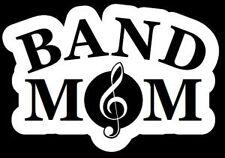 BAND MOM Vinyl Die Cut Decal Sticker car window laptop Music school