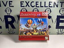 "PUZZLEBUG -Lake County Fair,Illinois ~500 PIECE PUZZLE 18.25"" X 11"" 2012 AGE 8+"